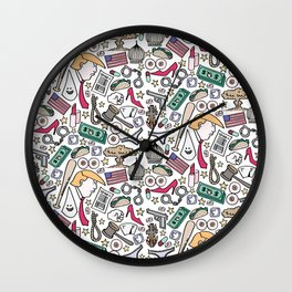 The New Normal Wall Clock
