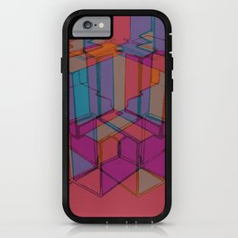 Cube Geometric I iPhone Case