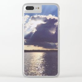 And we thought it was just an ordinary day Clear iPhone Case