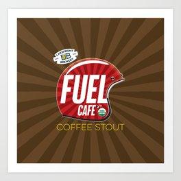 Fuel Cafe Art Print