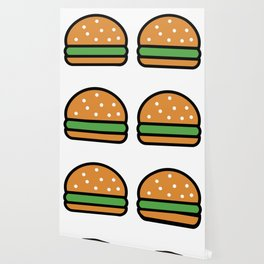 Burger Lover Design Cute And Funny Food Gift Idea Wallpaper