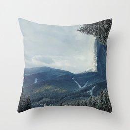 Carpathians Throw Pillow