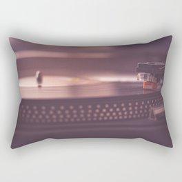 Classic Vinyl Rectangular Pillow