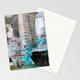 Falling from balconies Stationery Cards