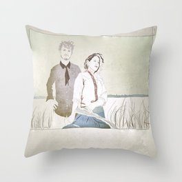 Shovels & Rope Throw Pillow