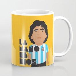 La Mano de Dios Coffee Mug