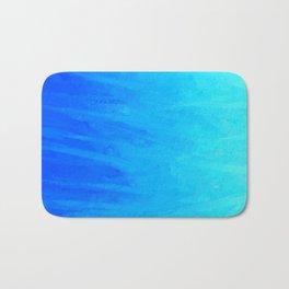 Icy Blue Blast Bath Mat