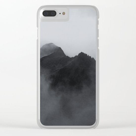 SURROUNDED Clear iPhone Case