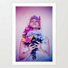 Samantha II Art Print