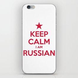 RUSSIA iPhone Skin
