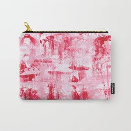 Abstract in shades of pink Carry-All Pouch