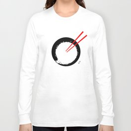 Enso in rice bowl Long Sleeve T-shirt