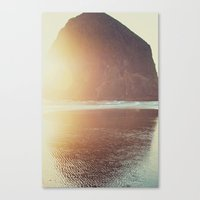 sun Canvas Prints featuring This is where I want to be... by Kurt Rahn