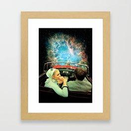 Space Riders Framed Art Print