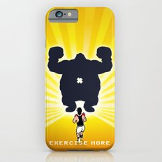 Exercise more. A PSA for stressed creatives. iPhone 6s Slim Case