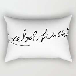 RREBOLHUCIONT Rectangular Pillow