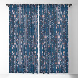 Arrows Vintage Pattern 3 Blackout Curtain