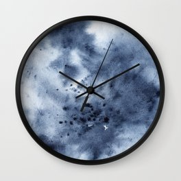 astro abstraction Wall Clock