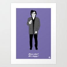 Tim #2 (Cameo One Shot) Art Print