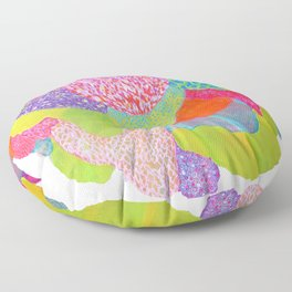 Growing Together Floor Pillow
