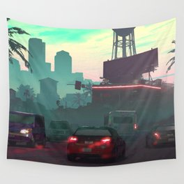 Vice City Wall Tapestry