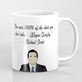 Office quote of a quote  Coffee Mug