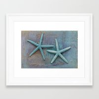 starfish Framed Art Prints featuring Starfish by LebensART Photography