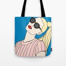 Iggy Azalea Blue Tote Bag