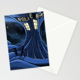 Timelord Adventures issue 1. The Broken TARDIS Stationery Cards