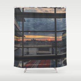 Morning Ember Shower Curtain