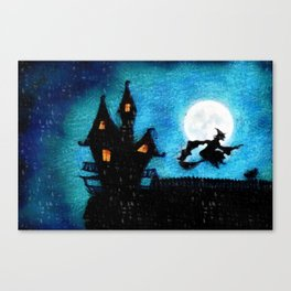 Wicked Witch Is Here Canvas Print