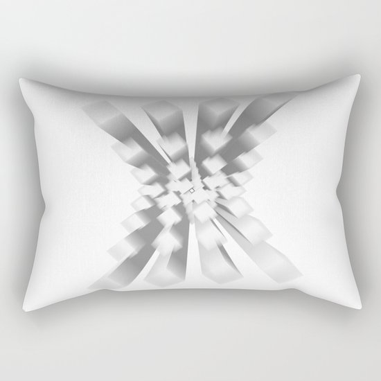 Whitey X Rectangular Pillow