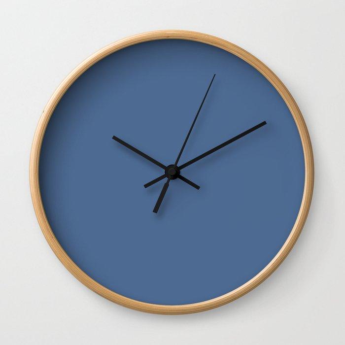 Simply Aegean Blue Wall Clock