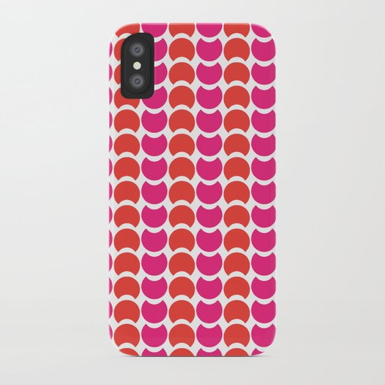 HobNobFucshia iPhone Case