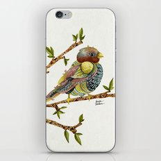 Positivity Bird iPhone & iPod Skin