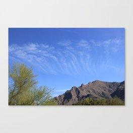 Sky Rake Canvas Print