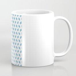 rhombus bomb in dusk blue Coffee Mug