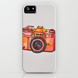 retro camera phone case iPhone Case