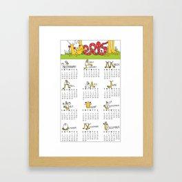 2015 Eldo Calendar Framed Art Print