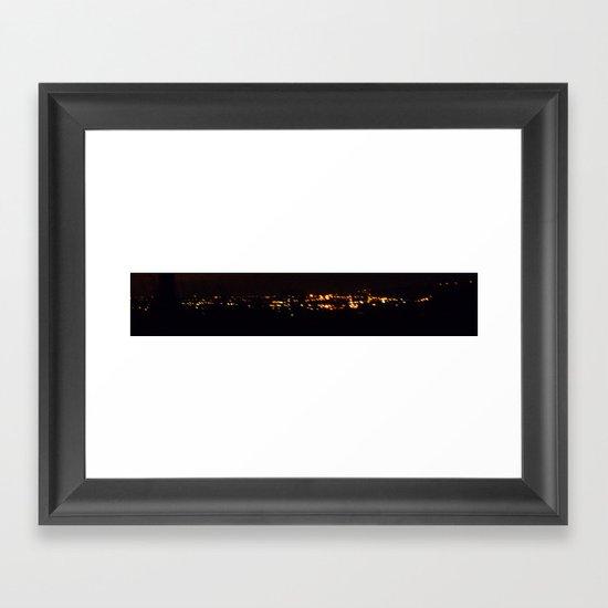 fire birds Framed Art Print