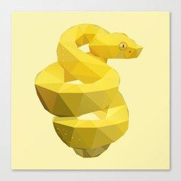 Viper Snake. Canvas Print