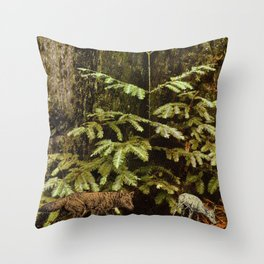 hunt Throw Pillow