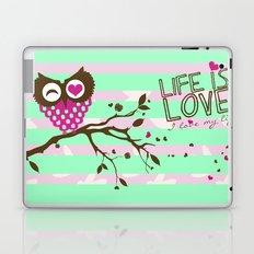 LOVE MY LIFE Laptop & iPad Skin