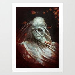 Lonely Death Art Print