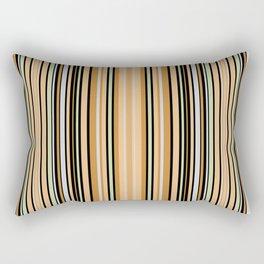 Grey-beige stripes Rectangular Pillow