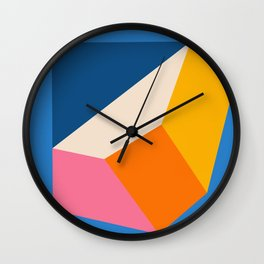 Cubed  Wall Clock