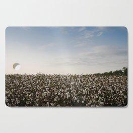 Cotton Field 2 Cutting Board