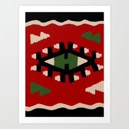 Kilim Art Print