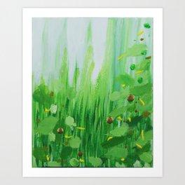 Mini Grass Art Print