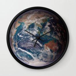 Blue Marble Eastern Hemisphere Wall Clock